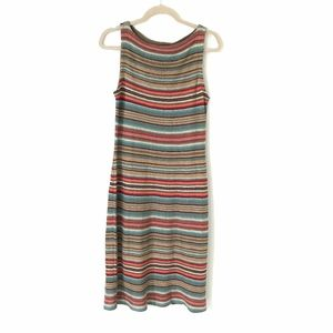Lauren Ralph Lauren Aztec Peasant Knit Dress M
